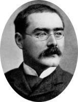 Rudyard Kipling, auteur britannique (1865-1936)
