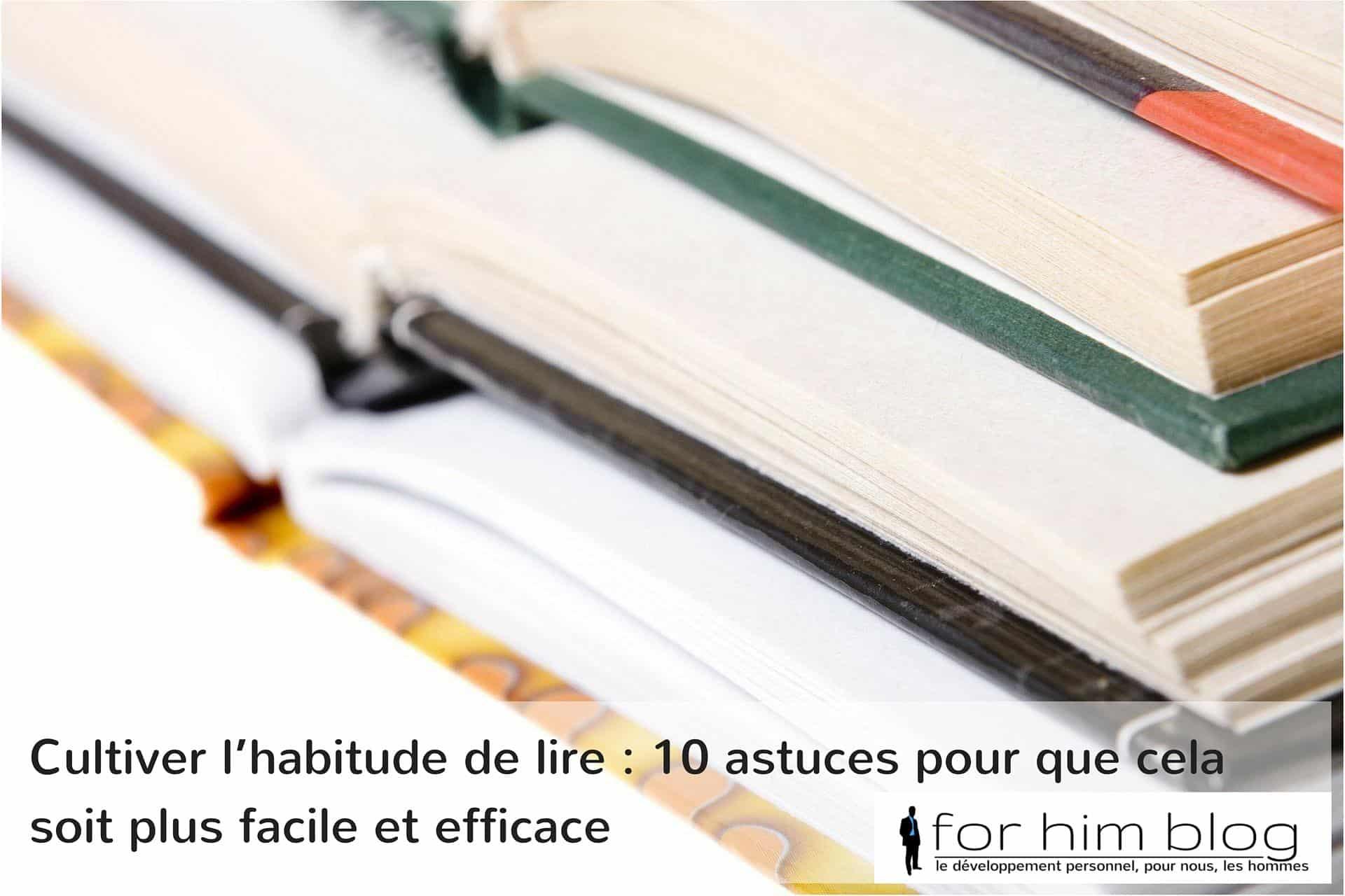 habitude lire astuces